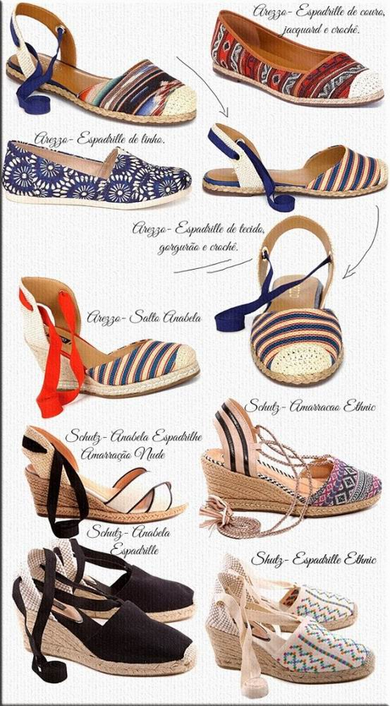 Espadrille da Moda 2014