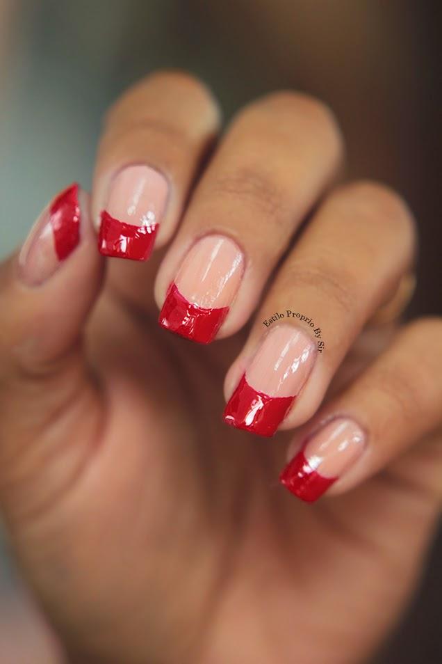 Fabuloso Unha para o Natal Glitter Vermelho - Estilo Próprio by Sir OE21