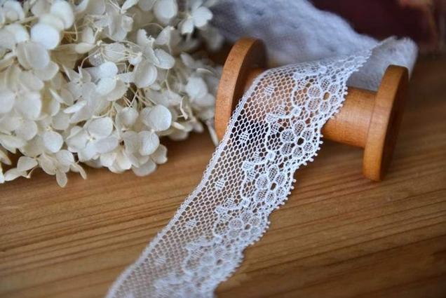 fine-white-cotton-thread-crochet-knit-net-cluny-lace-3cm-DIY-home-textile-trim-bridal-dress