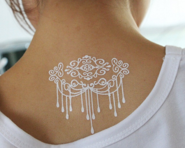8sheets-Temporary-White-Tattoo-Sticker-Wedding-and-Bridal-Lace-Henna-Tattoo-Body-Art