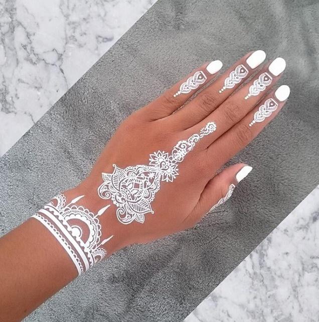 tatuagem-branca-white-henna