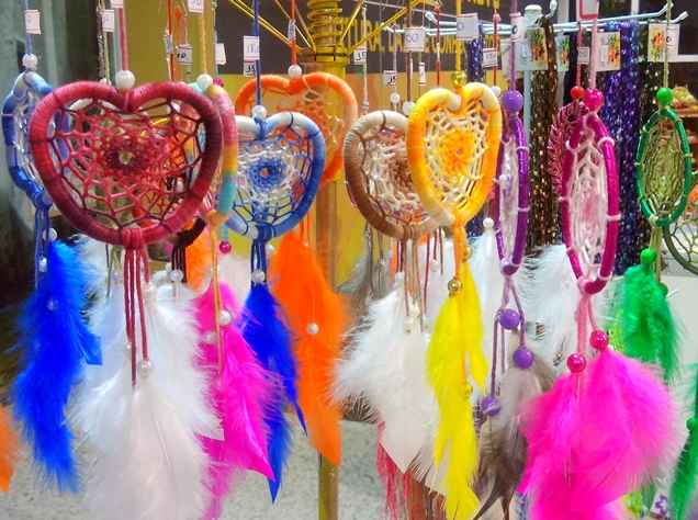 filtros do sonhos feira de artesanato