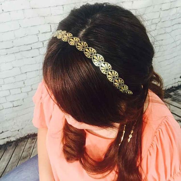 24K-gold-flash-metallic-hair-accessories-gold-hair-tattoo-sticker