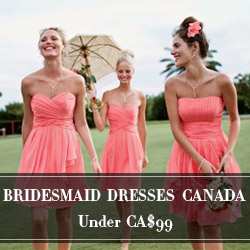 Bridesmaid Dresses Canada