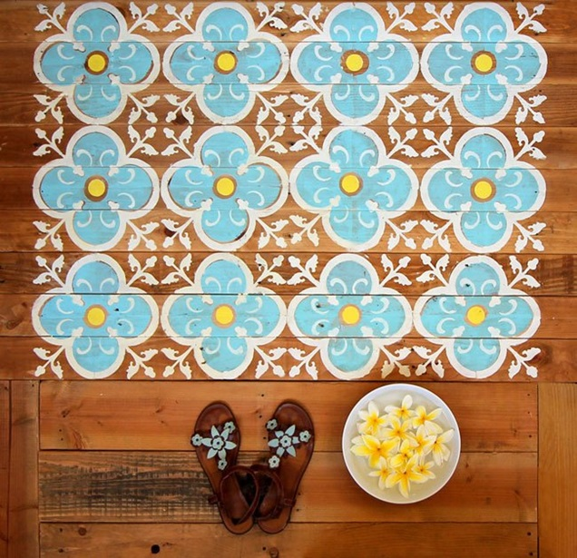 diy-doormat-made-from-wood-pallet-stenciled-5