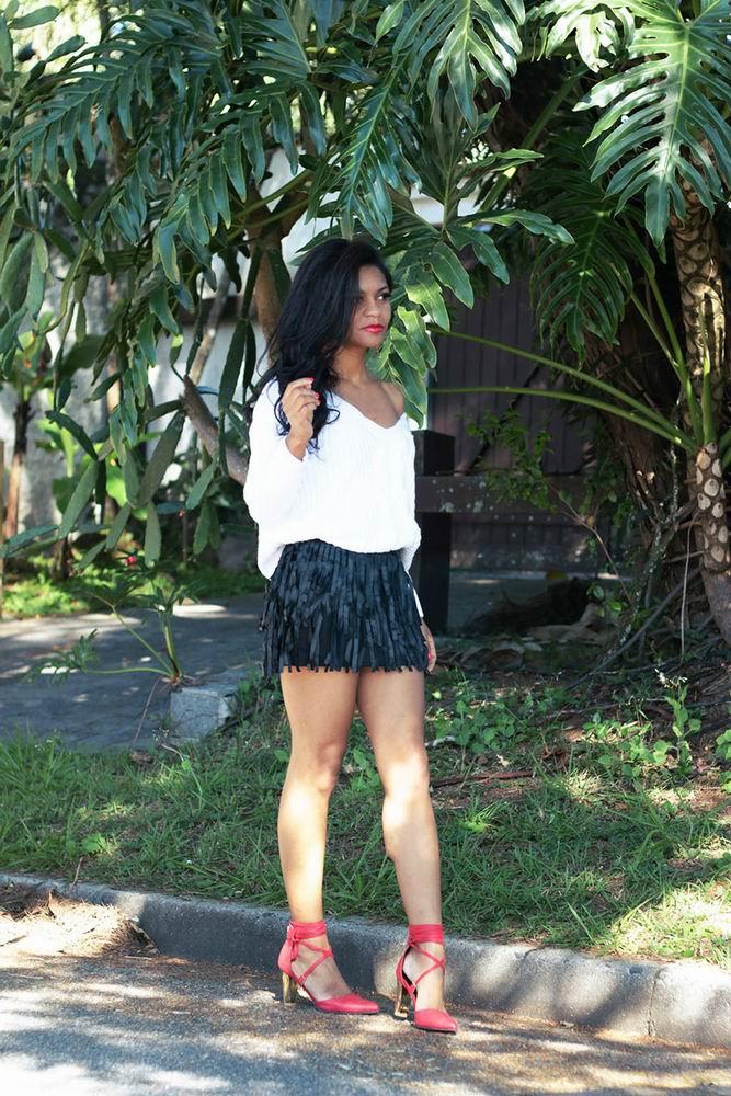 Look Skirt Fringe