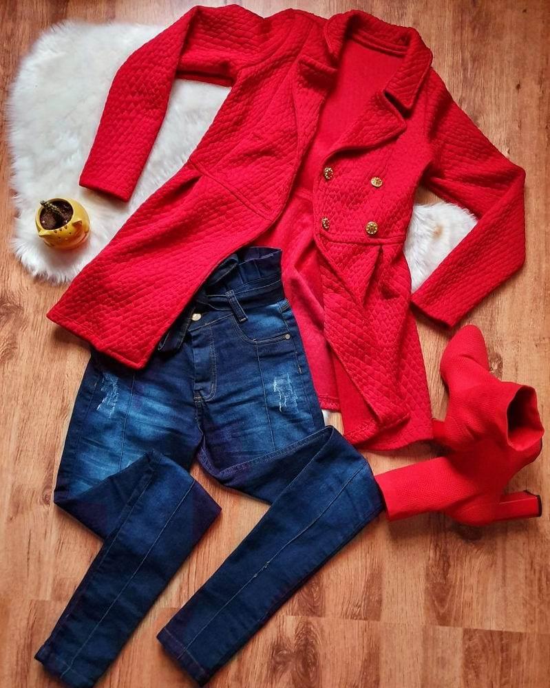 Calça Jeans com Bota