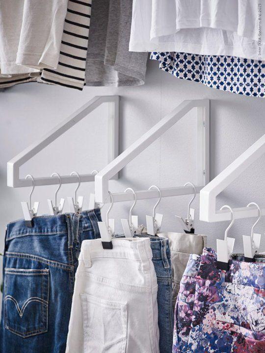 10 ideias a vida sem guarda roupa