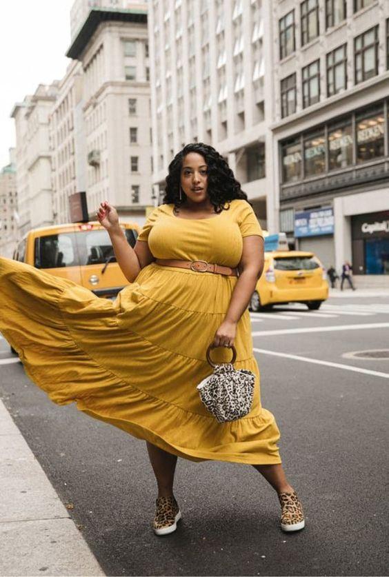 Tipos de vestidos Plus Size para você se inspirar